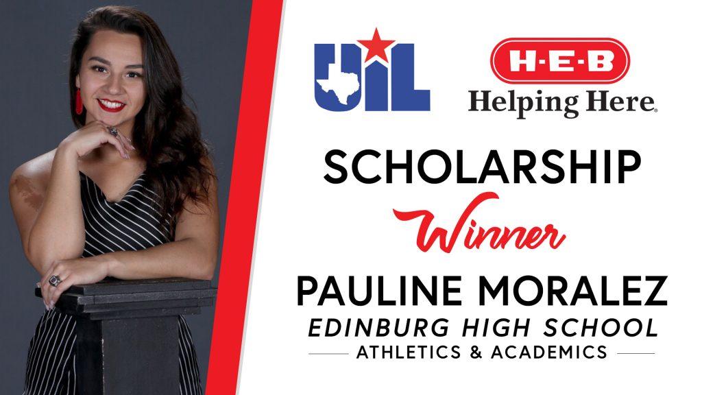 UIL Scholarship recipient Pauline Moralez of Edinburg High School.